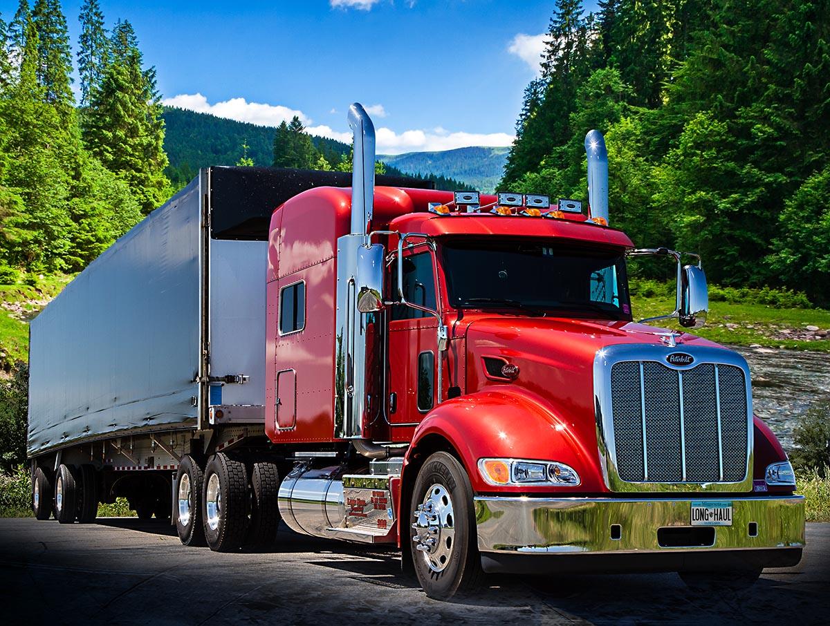 long haul trucks