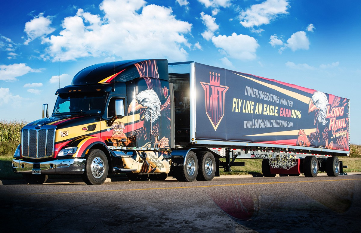 Long Haul Trucking >> Long Haul Introduces New Company Driver Mileage Pay Info Lht Long