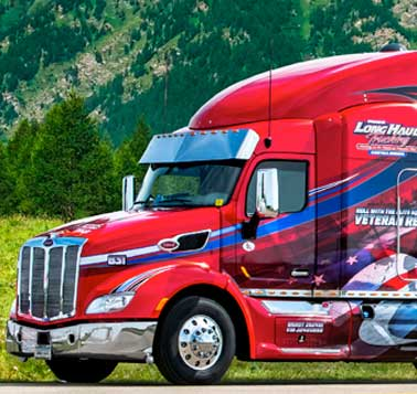 Drive with Long Haul Trucking
